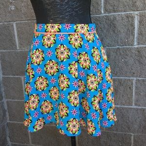 💥5/$25 Flying Tomato Bright Geometric Skirt